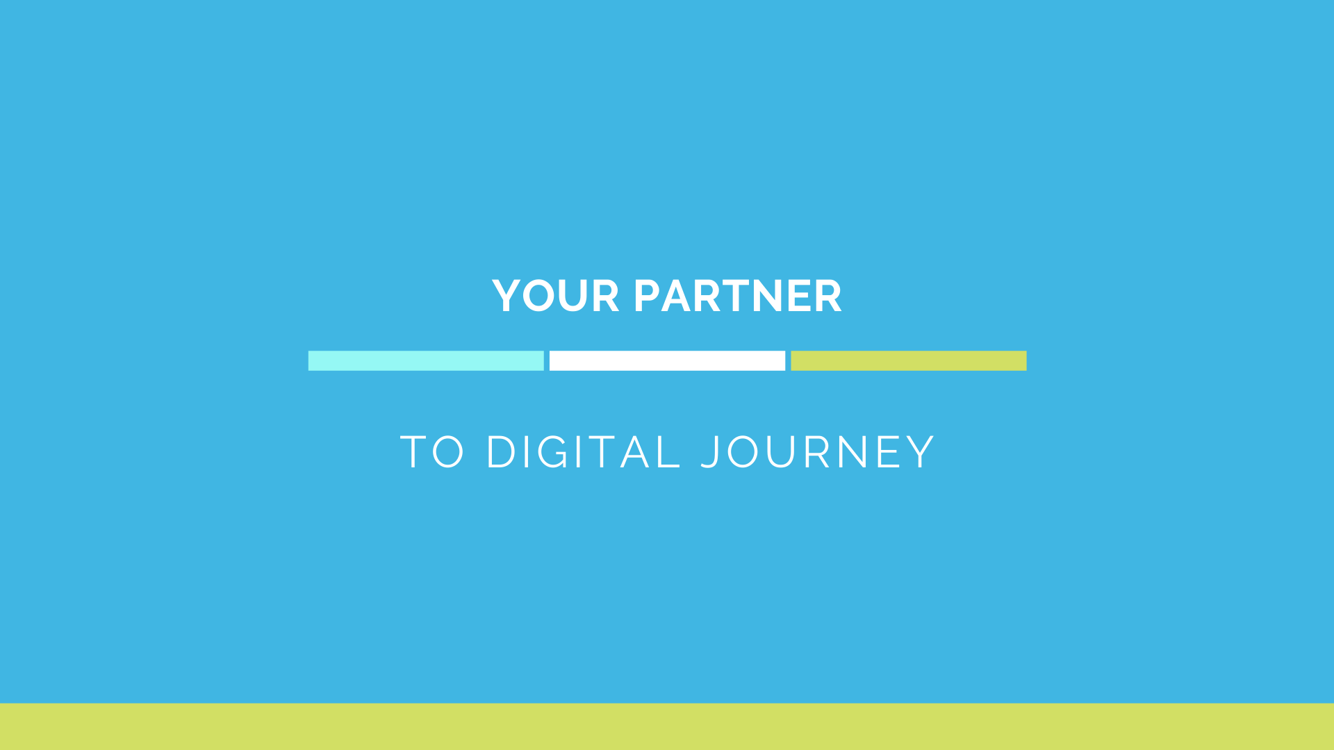 Partner to Digital Journey